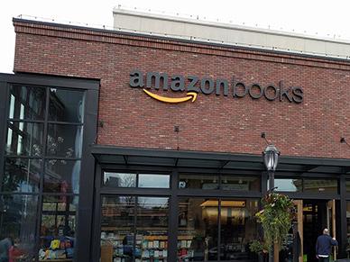 Amazon Books: онлайн-магазины выходят «вреал»